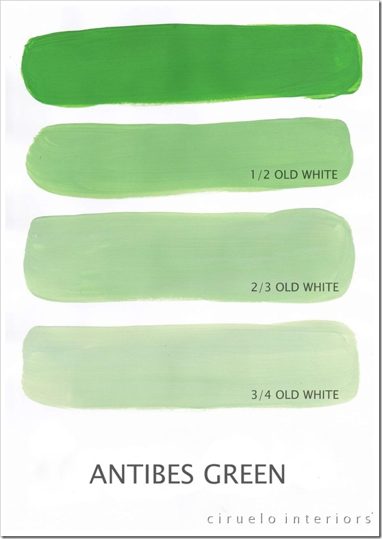 Antibes Green og Old White