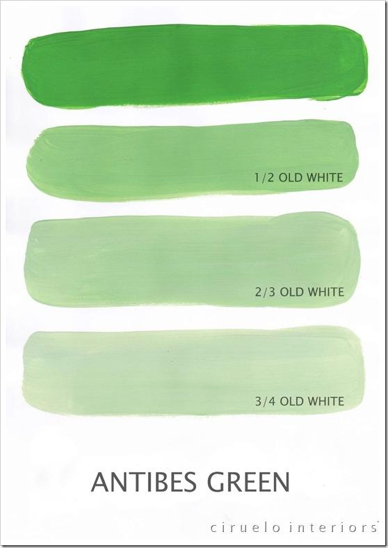 Antibes Green og Old White