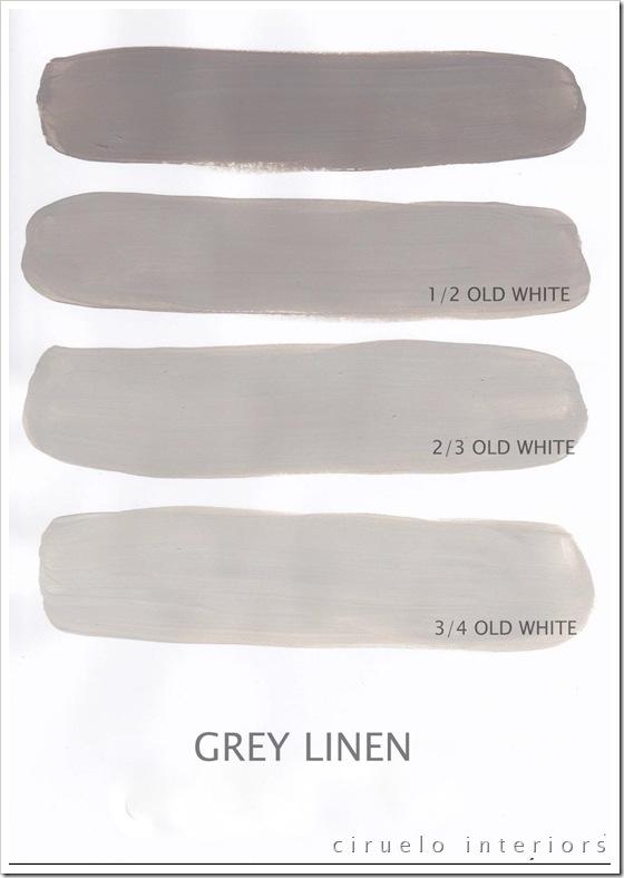 Grey Linen og Old White