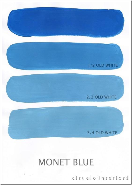 Monet Blue og Old White