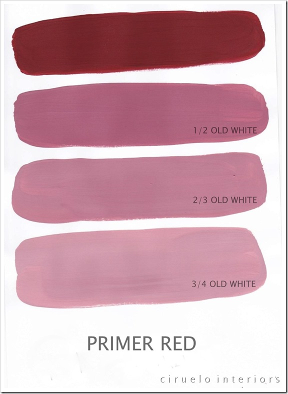 Primer Red og Old White