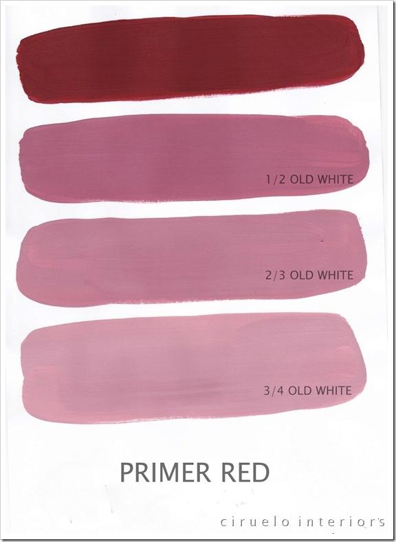 Primer Red og Old White